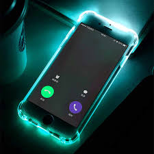 Iphone 7 Plus Light Up Selfie Case Anti Knock Led Flash Light Up Remind Incoming Call Phone