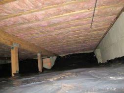 installing insulation in crawl space.  Insulation This Is What Your Crawl Space Should Look Like If It Does Not Contact  Contact With Installing Insulation In Crawl Space