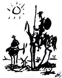 don quixote painting don quixote by mice dallocchio