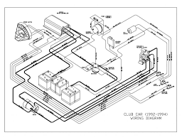 1994 club car wiring diagram