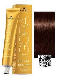 Igora Color Chart Schwarzkopf Igora Royal Absolutes Anti Age Permanent Hair Color
