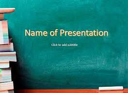 Ppt Templates Education School Education Powerpoint Templates Free Download