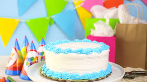 Simple White Birthday Cake With Stock Footage Video 100 Royalty