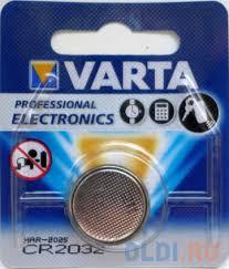 <b>Батарейка Varta Electronics</b> CR2032 1 шт — купить по лучшей ...