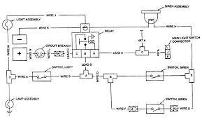siren and warning light wiring diagram siren and warning light wiring diagram