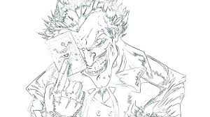 The Joker Coloring Pages Smart Ideas The Joker Coloring Page And