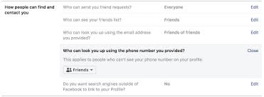 Phone And Address Facebook Criticised For Misuse Of Phone Numbers Provided For