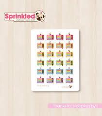 Retro Tv Online Rainbow Retro T V Sticker Sheet From Sprinkled Pug