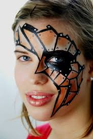 32 you love will be carried away face painting ideas 22