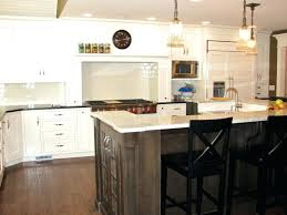 kitchen island height mesmerizing standard kitchen island height with white granite also black wooden counter height kitchen island height