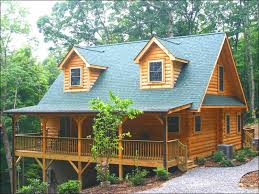 lake james log home exterior