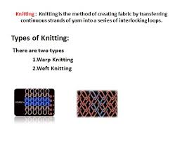 Flow Chart Of Knitting Textile Knowledge 2015