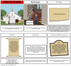 Martin Luther Story Board Storyboard By 5aa1c85a