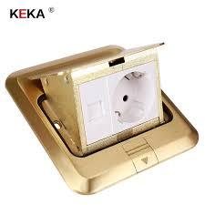 <b>KEKA EU Plug</b> 2/3/4/5 power Kitchen Table Electrical <b>Socket</b> ...