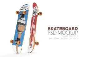 This mockup is fully customizable, you can change the wheel colors available format: 15 Beautiful Skateboard Mockup Psd Templates Mockuptree