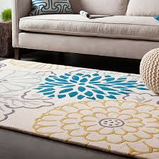 terrific 5x8 rug on solid area 5 3 x 8 white contemporary by rugs usa