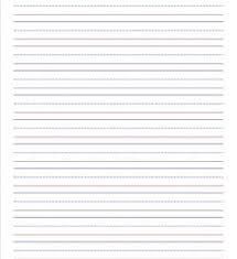 Elementary Ruled Paper Elementary Lined Paper For Kinder Thru Third Grade A Wellspring