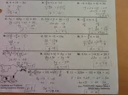 Punchline Algebra Book A Answer Key To Solving Two Step Equations Mcleod Algebra I And Cow Conundrums Key