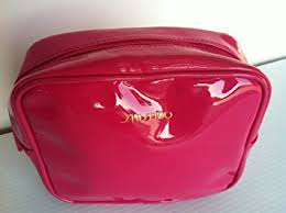 shiseido nice makeup bag about 7 5 7 inches