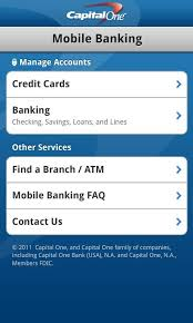 Capital One Bank Customer Service Capital One Mobile For Android Free Download And Software Reviews