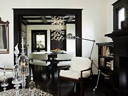 black and white walls living rooms with trim white walls black trim