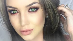 makeup looks for green eyes enhance hazel green eyes makeup tutorial you