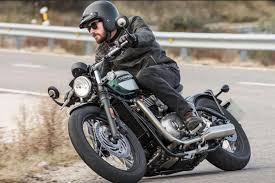review triumph bonneville bobber london evening standard