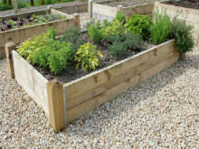 garden beds. deluxe raised beds garden