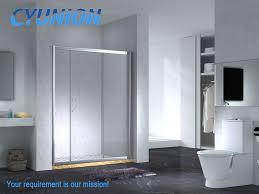 china 2018 new square bathroom with tempered glass sliding doorcomplete casing easy corner china shower enclosure sliding door