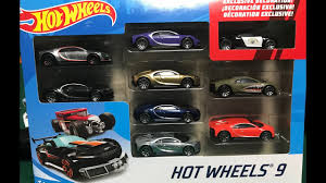 Shop with afterpay on eligible items. Hot Wheels Bugatti Chiron 9 Pack Unboxing 2020 1 64 Car Race Youtube