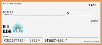 Excel Checkbook Template Amazing Blank Check Templates For Excel Template Vectors