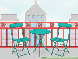 image titled decorate small. Image Titled Decorate Small Apartment Balconies Step 2 L