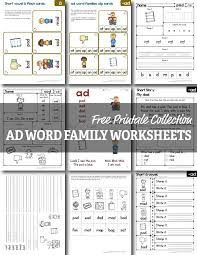 Word family worksheets help children in kindergarten quickly learn new words that have similar patterns. Free Ad Word Family Worksheets Homeschool Giveaways