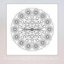 Download Mandala Kleurplaat 8