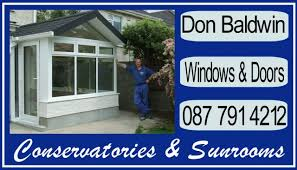 Don Baldwin Conservatories And Sunrooms 56 Belfry Avenue, St. Alphonsus  Road, Dundalk, Co.Louth