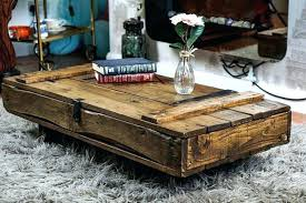 industrial cart coffee table vintage factory restoration hardware