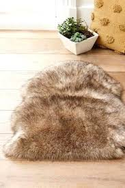 faux fur rug natural luxury faux sheepskin rug pink faux fur rug