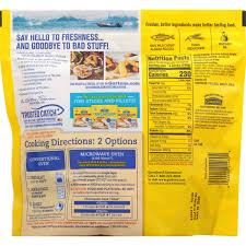 Gortons Crunchy Breaded Fish Sticks 30 Count Walmart Com