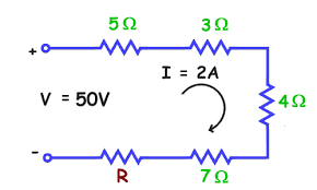 physics for kids resistors in series and parallel using the circuit diagram below solve for the value of the missing resistance r