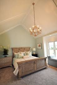 Seaside Bedroom Seaside Master Bedroom With Vaulted Ceiling With Low Profile