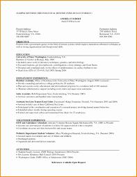 Reverse Chronological Order Resume New Government Resume Format