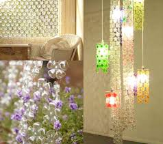 a creative array of gorgeous chandeliers all made from plastic bottles screenshot