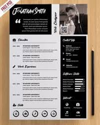 Free Creative Resume Template (Psd, Id) | Free Stuff | Pinterest ...