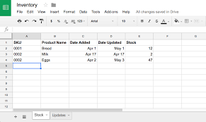 format of inventory how to manage inventory in google sheets with google forms how to
