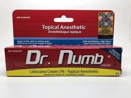 dr numb authentic numbing cream 22 including delivery