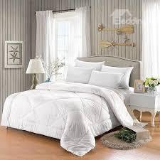 luxury diamond blue rose printing 5 piece cotton comforter sets