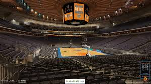 madison square garden seating chart view from section 101