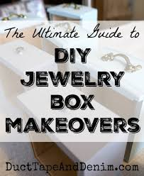 ultimate guide to jewelry box makeovers diy ideas for thrift boxes painting