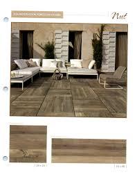 wood look porcelain cancos tile for natural living room flooring design