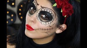 easy sugar skull makeup tutorial sccastaneda